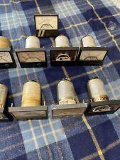 Lot Of 9 Simpson Panel Meters Gauges