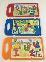 Sesame Street Elmo's Learning Fun Laptop Replacement Cards Slide Lot 2006 Mattel