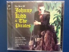 JOHNNY. KIDD   AND. THE. PIRATES.      THE BEST OF. JOHNNY. KIDD.     TWO. DISCS