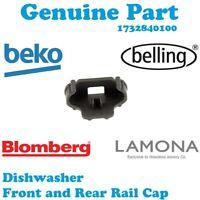 Beko DL1243S DL1243W DSFN1532B Dishwasher Rail Cap Basket Front Rear Clip