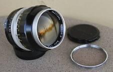Nikon Nikkor P 105mm F2.5 Manual telephoto portrait Lens - 1971 vintage
