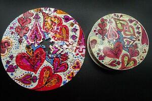 "Vtg 1968 Springbok Mini Thingie Puzzle ""LOVE"" / Hearts by Sandy Miller 7"""