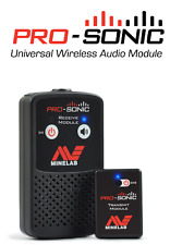New! Minelab Pro-Sonic wireless headphone audio system. Use with any detector