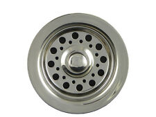 Opella 90088 Disposer Basket Strainer & Flange Drain Assembly Stainless Steel