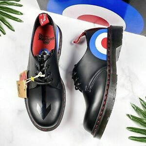 Dr. Doc Martens Womens Boots Shoes Size 8 The Who 1461 Smooth Oxford Leather New