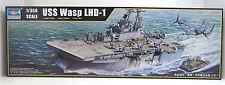 USS WASP LHD 1,Amphibisches Angriffsschiff,Navy,OVP,Trumpeter,5611,1:350,NEUWARE