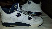Nike Air Jordan Retro 4 LS Columbia Size 12 navy white