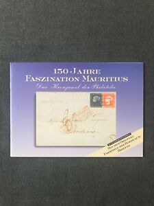 "Germany 1998 Booklet ""150 Jahre Faszination Mauritius"" including facsimile cover"