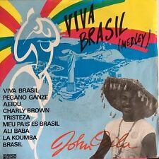 "Viva Brasil (Medley) - John Ozila - Vinyl 7"" 45T (Single)"