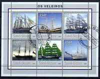 Bateaux Guinnée Bissau (28) série complète de 6 timbres oblitérés