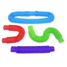 2pc Slinky Pop Tube sensory play fidget toy box autism occupational therapy