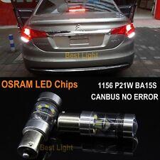 2x1156 Canbus LED  Backup Reverse Light  Peugeot 206 207 307 308 406 407 507 508
