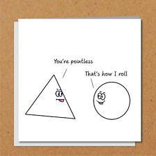 Funny Birthday Card Birthday Student Teen Teenager Friend Scientist Math Teacher
