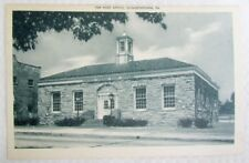 Antique Postcard The Post Office Elizabethtown Pa