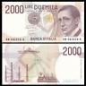 Italy 2000 2,000 Lire, 1990, P-115, UNC
