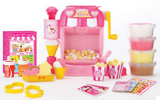 Clay Popcorn Maker Machine Store Ice Cream Shop Color Dough Frame Kids Role Play