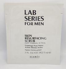 Lab Series Skin Resurfacing Deep Thermal Action Scrub Fragrance Free 3ml x 10