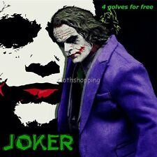 1/6 Scale Batman Joker Clown Clothes Suits Full Set F/12'' Figure Body DX01 DX11