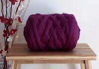 Heather* 100% Merino Wool Giant Yarn Extreme Arm Knitting, 100g - 1kg