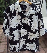 Mens O'KIEF & O'KIEF Hawaiian Camp Shirt Size XL Silk Blend Soft Colors NICE