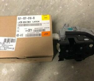 Genuine Audi Door Lock Actuator Motor 8J1-837-016-B