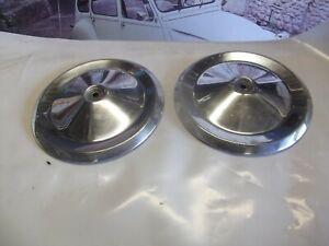 Citroen 2cv wheel hub caps early type alloy. 10.000+Citroen parts in stock