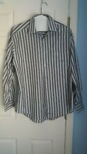 Johnston & Murphy Mens Shirt Button Down Long Sleeve Sz L
