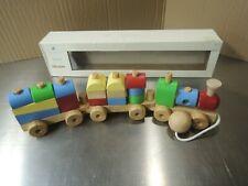 Pottery Barn Kids Wooden Nursery Pull Train Toy
