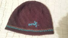 Womens Brown Knitted Animal Hat NEW