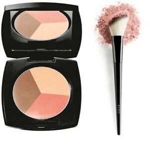 Avon Blush and Bronze Trio - Contouring palette with Angled Brush