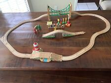HUGE LOT Thomas The Train And Friends Wooden People, Light House , 30 Tracks