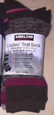Kirkland Signature Ladies Trail Socks, 4 Pair Pack