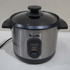 Breville The Set & Serve Rice Cooker & Steamer BRC310