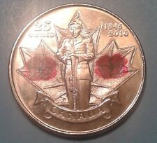 Canada 25 Cent Commemorative coin 2010 (65 years since the end of WWII)