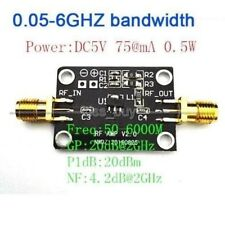 High linearity LNA 0.05-6GHZ RF amplifier FM HF VHF / UHF Ham Radio Verstärker