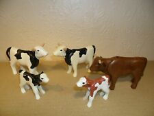 PLAYMOBIL COW HERD (Cattle,Animals for Farm or western,Calves,Fresians)