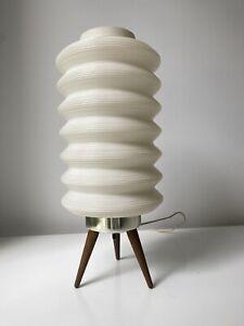 Mid-Century Tripod Cocoon Table Lamp