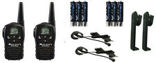 TALKIE WALKIE MIDLAND LXT118 26KMS MICRO CASQUE +CHARGEUR+TRANSFORM. 220V