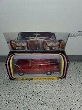 1979 CORGI DIECAST #279 ROLLS ROYCE CORNICHE RED IN BOX