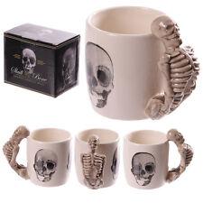 Fantasy Tasse Skelett Kaffeetasse Kaffeebecher Skull Mug Teetasse Totenkopf NEU