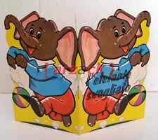 L'Elefante Svogliato COLLANA I GRANELLINI edizioni Malipiero 1969 libro sagomato