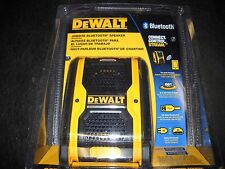 DeWalt DCR006 Cordless Jobsite Bluetooth Speaker DC/AC USB Port 12V/20V NEW