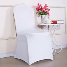 4/10 Pcs Universal Spandex Stretch Banquet Chair Covers for Hotel Wedding Party