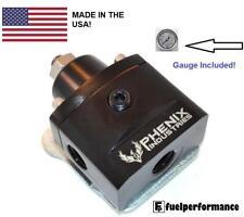 PHENIX Industries EFI by-pass Regolabile Regolatore Di Pressione Del Carburante & Free Gauge