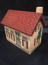 Cape Craft Villages Victoria Village Collection Wooden House 1990 Red Roof