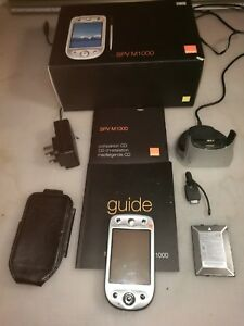 SPV M1000 Mobile Phone/Pocket PC All In 1 Handheld PDA Orange