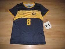 Under Armour California Golden Bears Womens Sz Medium Blue Volleyball Jersey/New