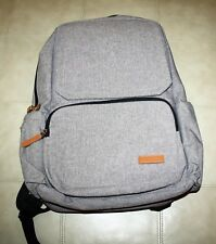Lekebaby Unisex Diaper Bag Gray