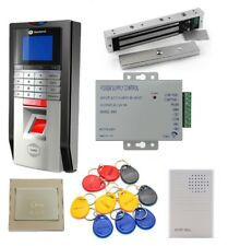 TCP/IP Fingerprint and RFID Card Access Control System & Time Attendance Kits
