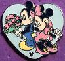 DISNEY WDW 2006 HIDDEN MICKEY COLLECTION SWEETHEART HEARTS #1 MICKEY MINNIE PIN